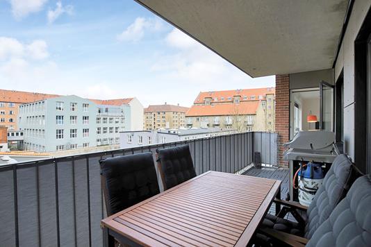 Ejerlejlighed på Nimbusparken i Frederiksberg - Altan