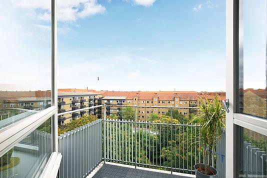 Ejerlejlighed på H. Schneekloths Vej i Frederiksberg - Altan
