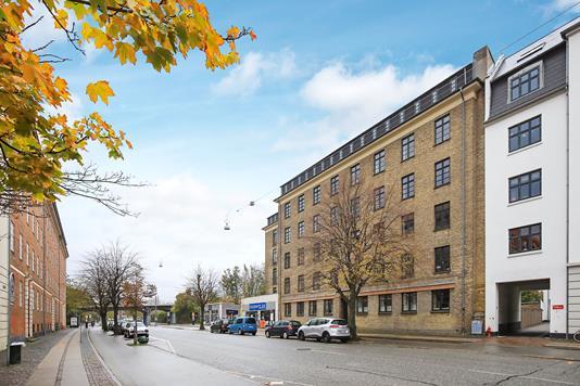 Ejerlejlighed på Borups Alle i Frederiksberg - Ejendommen