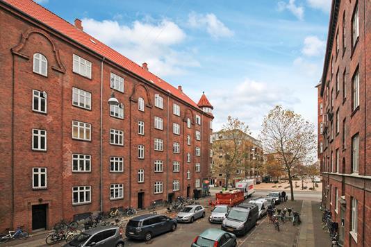 Ejerlejlighed på Cumberlandsgade i København S - Ejendommen