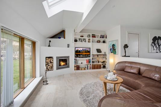 Villa på Helsingevej i Virum - Stue