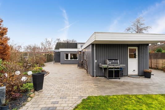 Villa på Lærke Alle i Ishøj - Terrasse