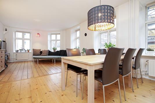 Ejerlejlighed på Istedgade i København V - Stue