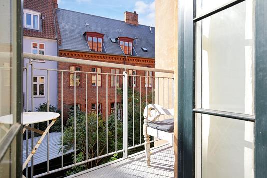 Andelsbolig på Vesterbrogade i København V - Altan