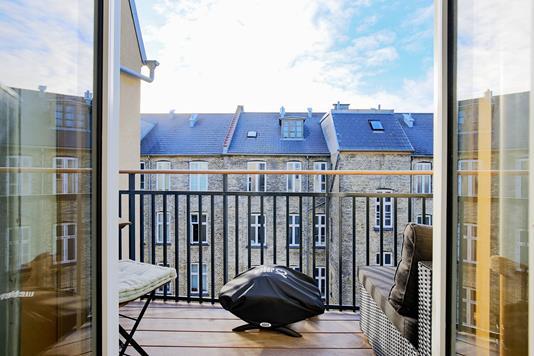Ejerlejlighed på Godsbanegade i København V - Altan