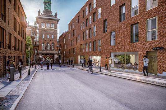 Ejerlejlighed på Ny Carlsberg Vej i København V - Ejendommen