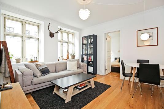 Ejerlejlighed på Matthæusgade i København V - Stue
