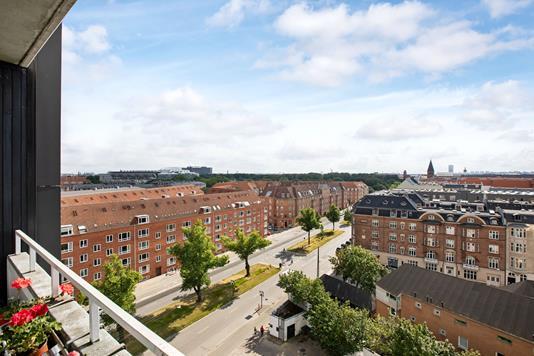 Ejerlejlighed på Jagtvej i København Ø - Udsigt