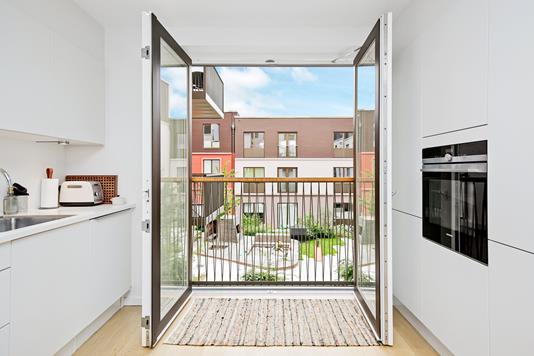 Ejerlejlighed på Constantin Hansens Gade i København V - Køkken