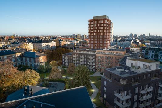 Ejerlejlighed på Bag Elefanterne i København V - Ejendommen