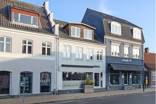 Villa på Østergade i Middelfart - Ejendommen