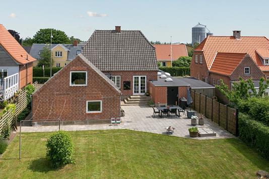 Villa på Røjle Bygade i Middelfart - Mastefoto