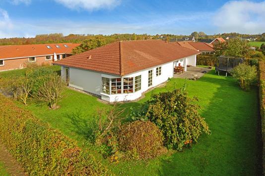 Villa på Østervangen i Nørre Aaby - Mastefoto