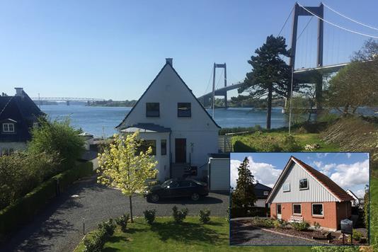 Villa på Gl Strandvej i Middelfart - Udsigt