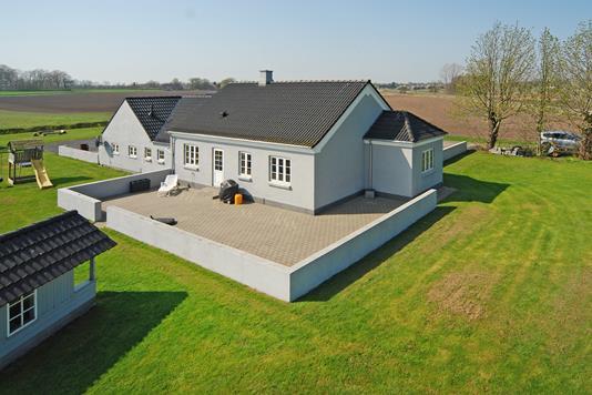 Villa på Byllerup i Nørre Aaby - Mastefoto