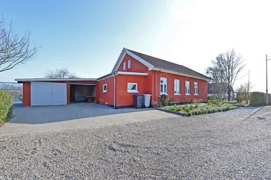 Villa på Røjle Bygade i Middelfart - Indkørsel