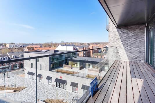 Ejerlejlighed på Havnegade i Middelfart - Balkon