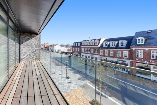 Ejerlejlighed på Østergade i Middelfart - Balkon