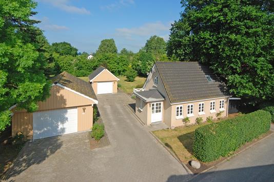 Villa på Mosegårdvej i Ejby - Mastefoto