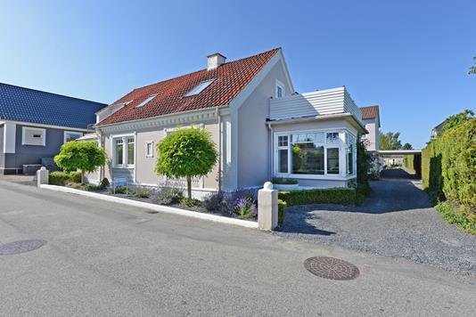 Villa på Østergade i Gelsted - Ejendommen