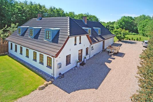 Villa på Gl Assensvej i Nørre Aaby - Mastefoto