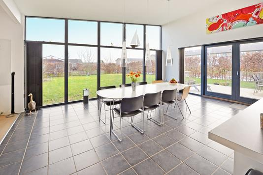 Villa på Slåenkvisten i Middelfart - Køkken