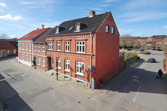 Villa på Nygade i Middelfart - Mastefoto