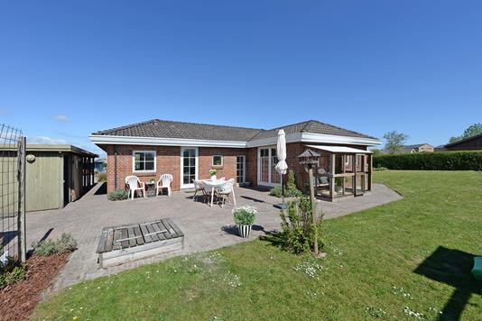 Villa på Storebæltsvænget i Middelfart - Have