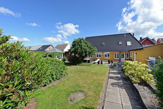 Villa på Odensevej i Middelfart - Have