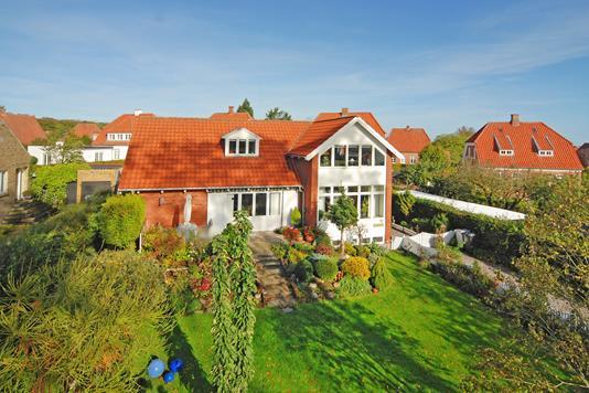Villa på Adlerhusvej i Middelfart - Mastefoto