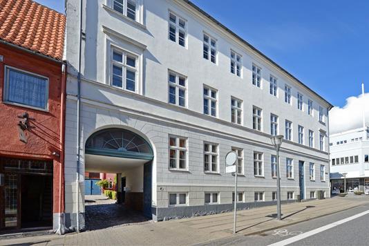 Ejerlejlighed på Adelgade i Nyborg - Ejendommen