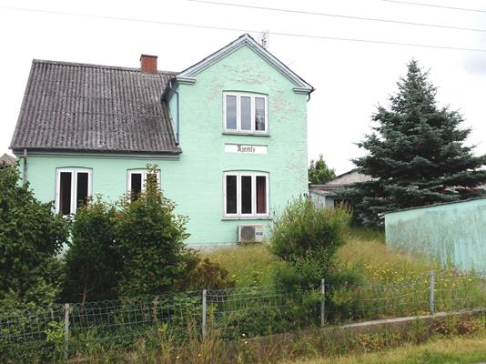 Villa på Abildvej i Søby Ærø - Facade