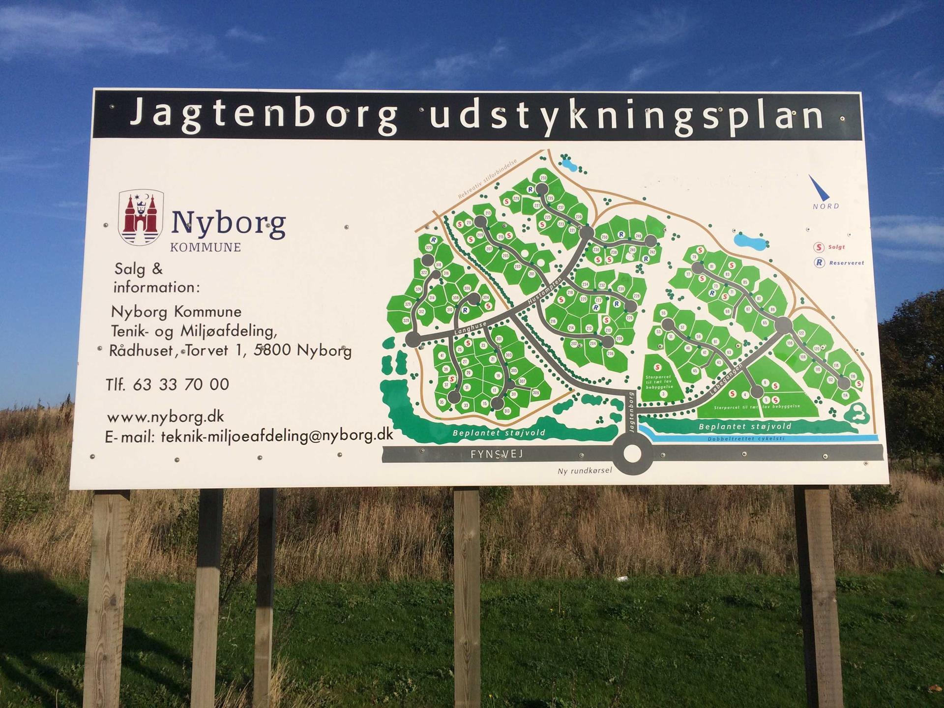 Helårsgrund på Langhuse i Nyborg - Grund