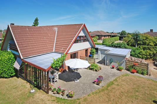 Villa på Fjordparken i Nyborg - Mastefoto