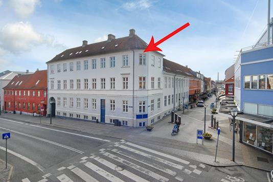 Ejerlejlighed på Kongegade i Nyborg - Mastefoto