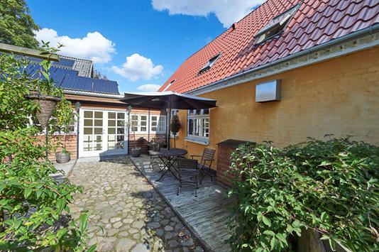 Villa på Regissevej i Ørbæk - Indgang