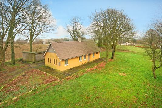 Villa på Kirke Søbyvej i Glamsbjerg - Mastefoto