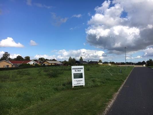 Helårsgrund på Storkevej i Broby - Byggegrund