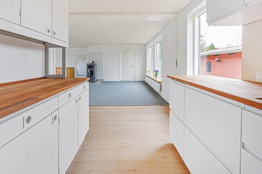Villa på Møllergyden i Haarby - Køkken