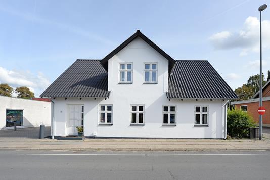 Villa på Strandgade i Haarby - Facade