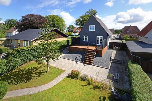 Villa på Svendborgvej i Ringe - Mastefoto
