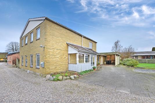 Villa på Kildevej i Haarby - Facade