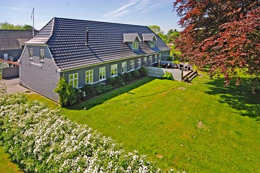 Villa på Østergade i Broby - Mastefoto