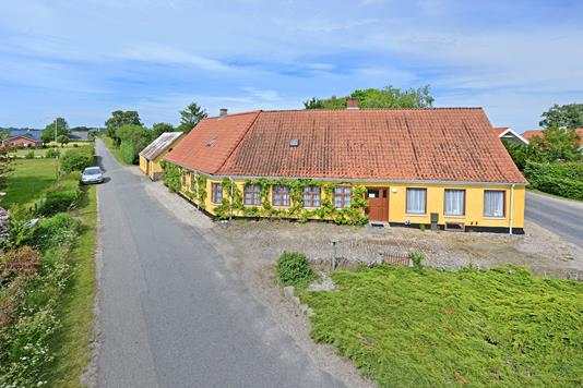 Villa på Kirkemarken i Haarby - Mastefoto