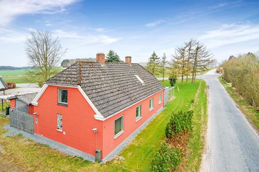 Villa på Møllergyden i Haarby - Mastefoto