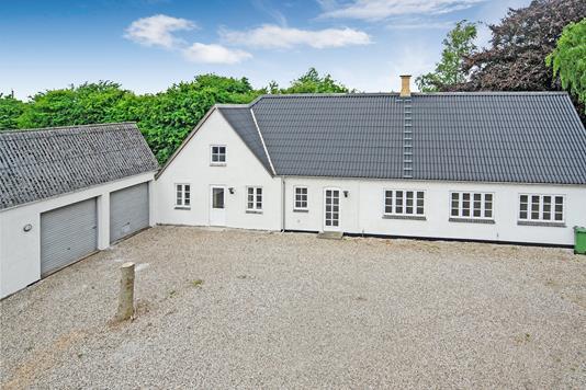 Villa på Fåborgvej i Ringe - Mastefoto