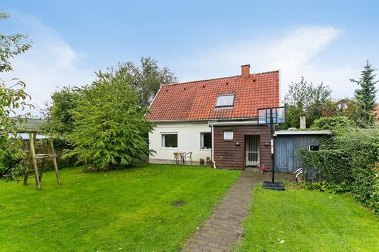 Villa på Vallekildevej i Brønshøj - Set fra haven