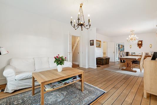 Villa på V.Stuckenbergs Vej i Kongens Lyngby - Stue