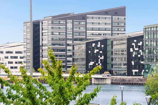 Ejerlejlighed på Islands Brygge i København S - Havudsigt
