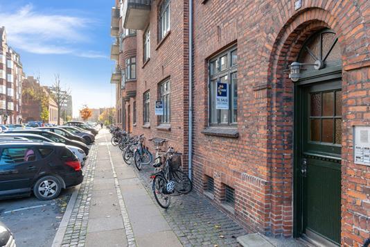 Ejerlejlighed på Snorresgade i København S - Indgang